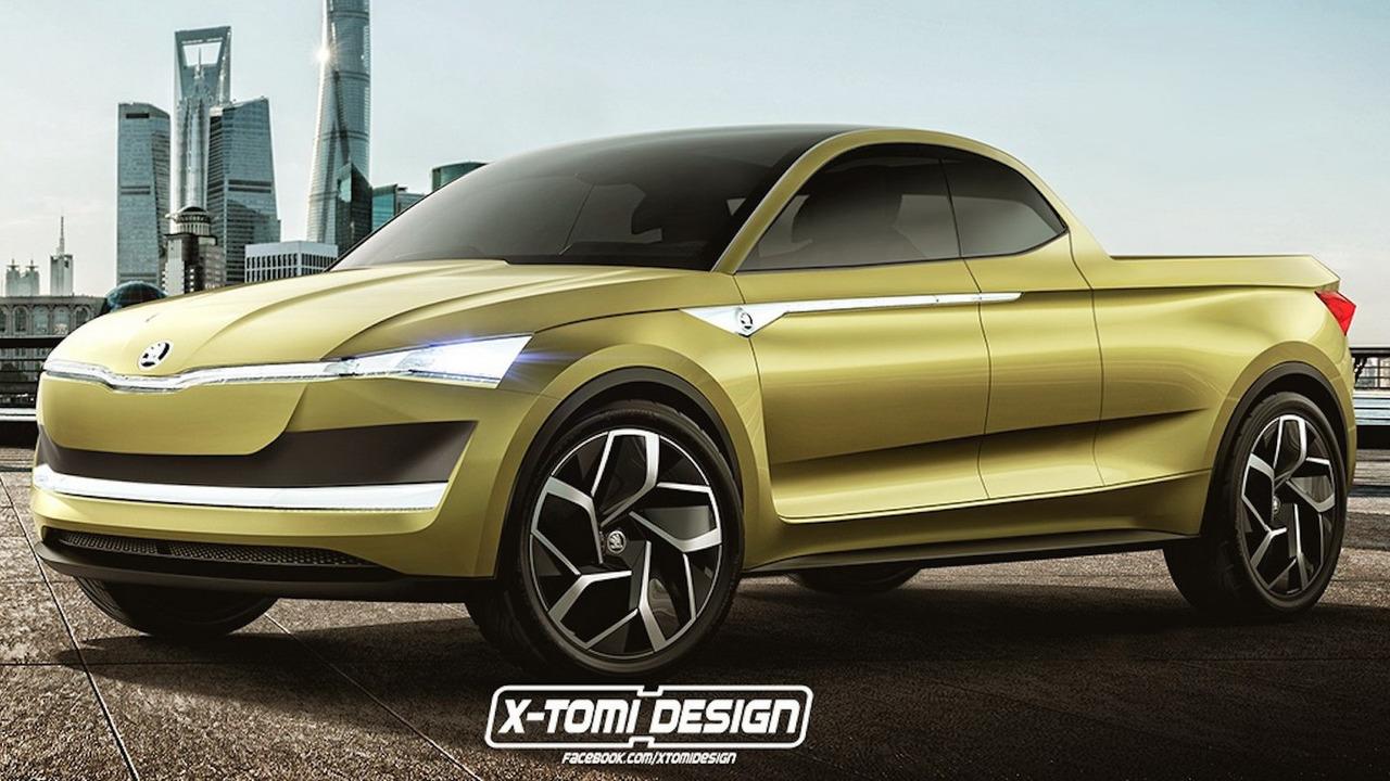 Skoda VisionE Pickup Concept