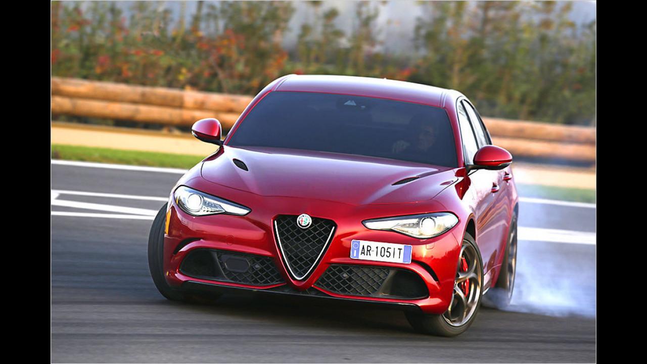 Lösung: Alfa Romeo Giulia Quadrofoglio