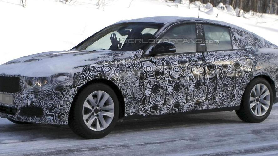 2013 BMW 3-series GT caught testing
