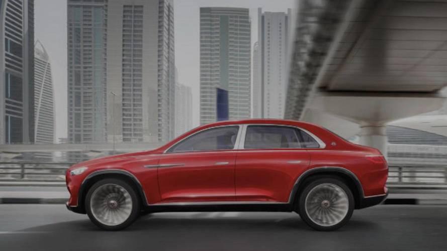 Vision Mercedes-Maybach Ultimate Luxury sızan fotoğraflar