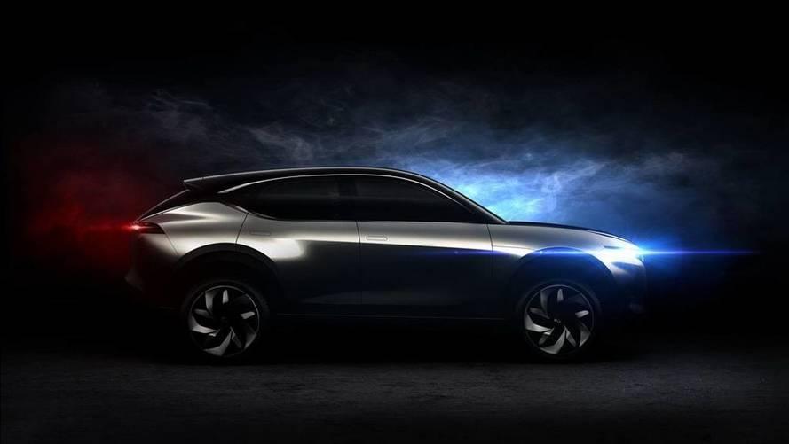 Pininfarina, elektrikli K350 SUV'unun teaser'ını yayınladı