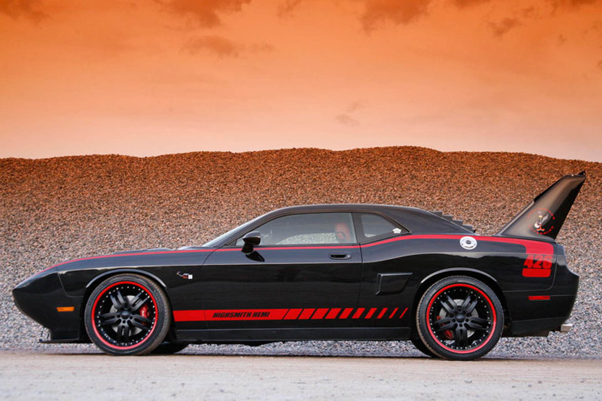 2008 Dodge Challenger Quot Superbird Quot Custom Makes A Bold