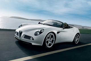 The Alfa Romeo 8C Spider is Future Classic Material