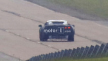 Mid-engine Corvette prototype spy photo