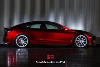 Saleen Overhauls Tesla Model S into FourSixteen: Pebble Beach