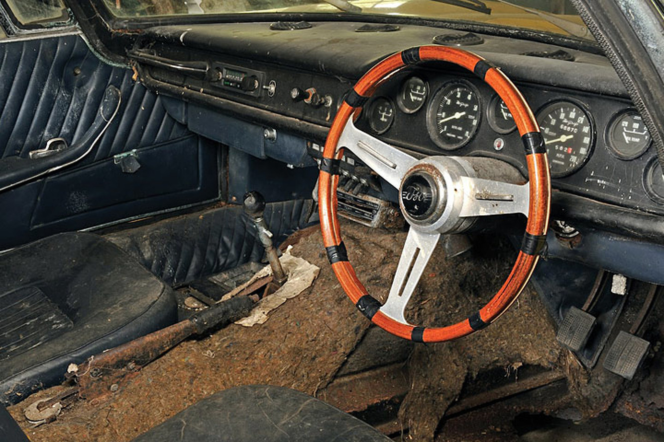 This Barn Find '67 Iso Grifo is a Beauty, Rust Included