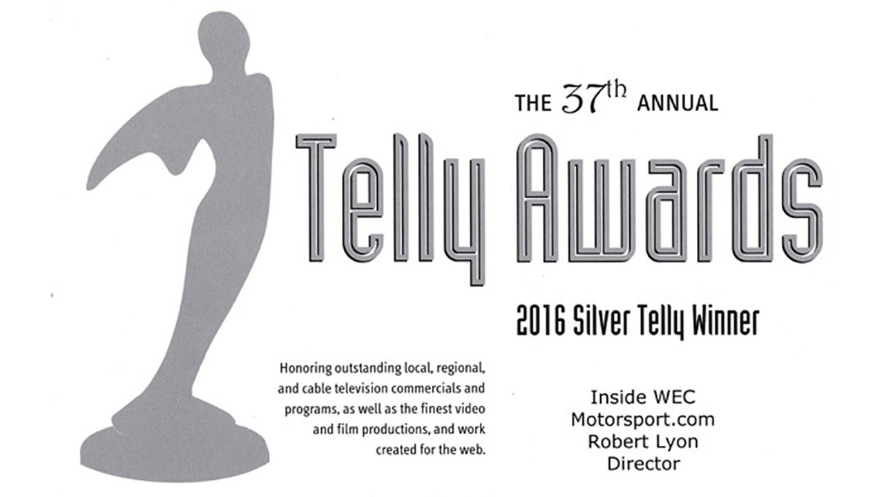 Motorsport.com Earns Multiple Telly Awards  for Best Web Series