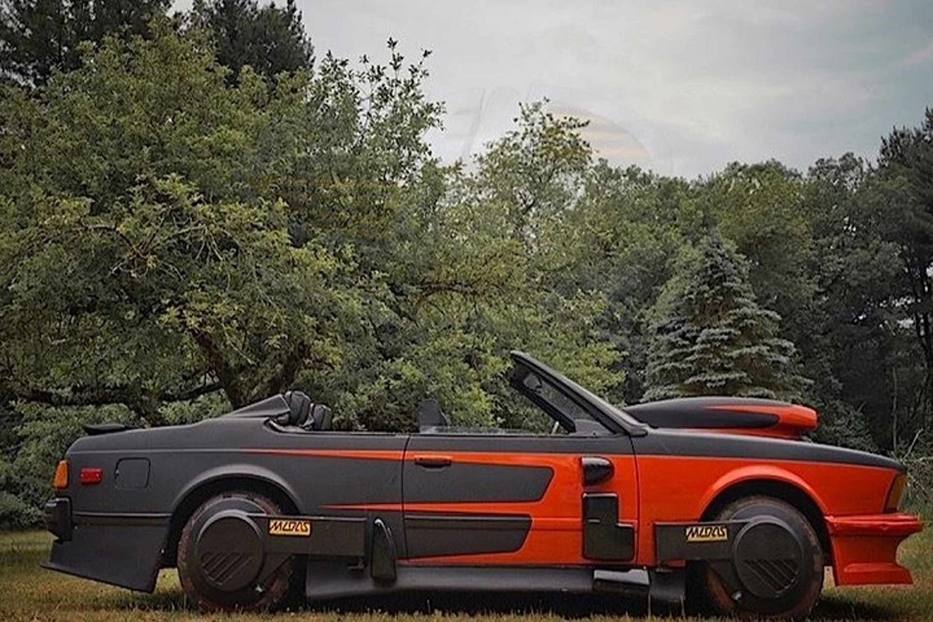 "You Can Now Buy Griff Tannen's BMW from ""Back to the Future II"""