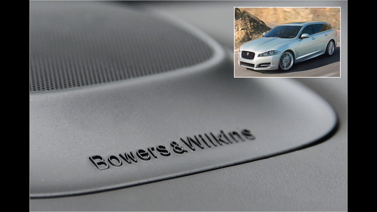 Jaguar: Bowers & Wilkins