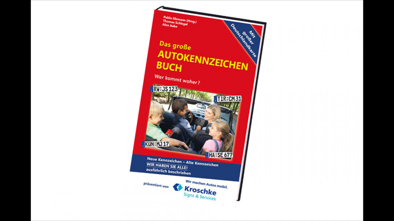 Klemann/Schlegel/Aabe: Das große Autokennzeichen-Buch