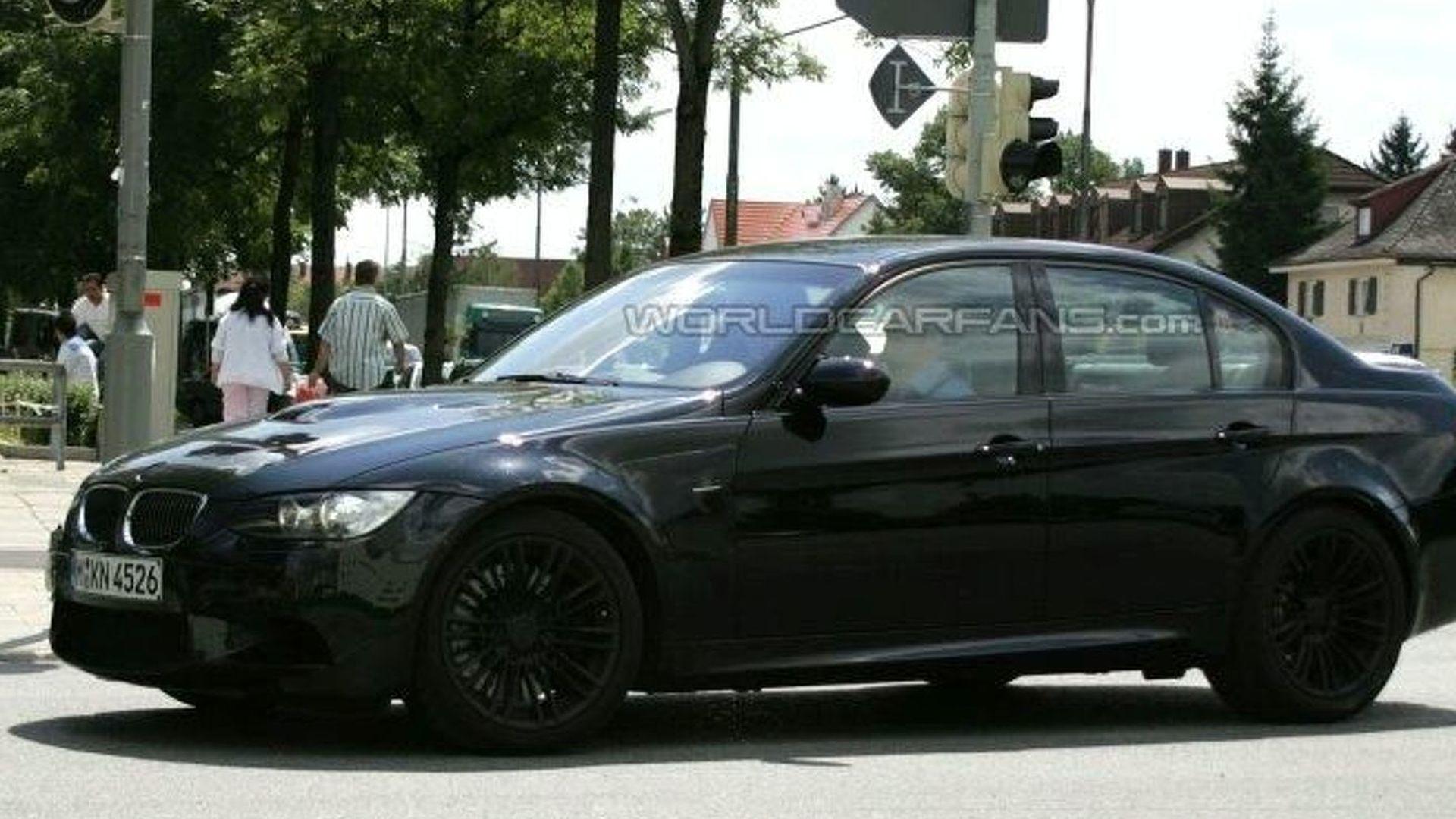 BMW M Door Sedan Latest Spy Photos - 2007 bmw m3 sedan