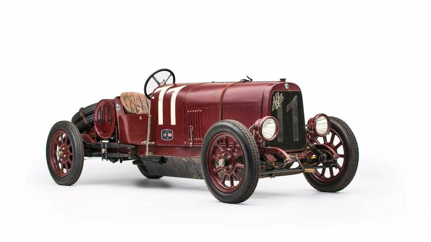 First ever Alfa Romeo heading to auction