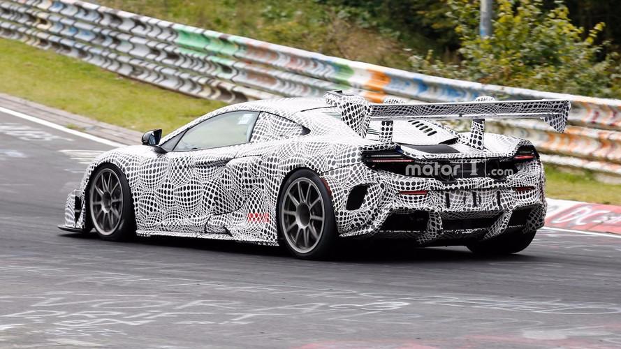 Nürburgringi kémfotókon a titokzatos McLaren 675LT versenyautó