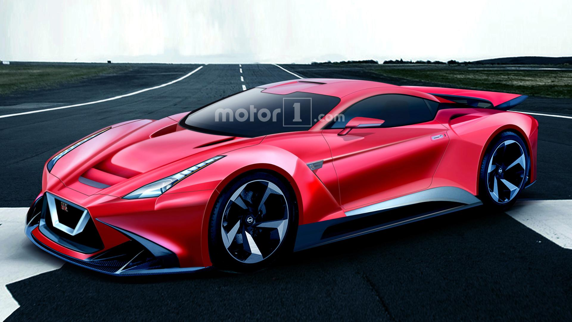 Is This Next Gen Nissan Gt R R36 Render Plausible