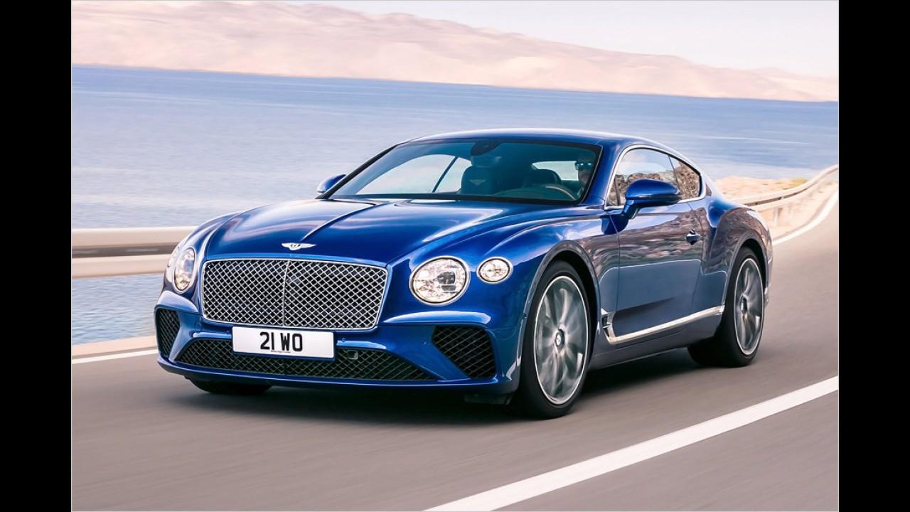 Neuer Bentley Continental GT enthüllt