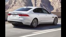 Jaguar revela o novo XF, que ganhou alumínio, perdeu peso e tem até 380 cv