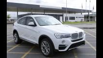 BMW X4 passa ser fabricado no Brasil, mas preço não muda