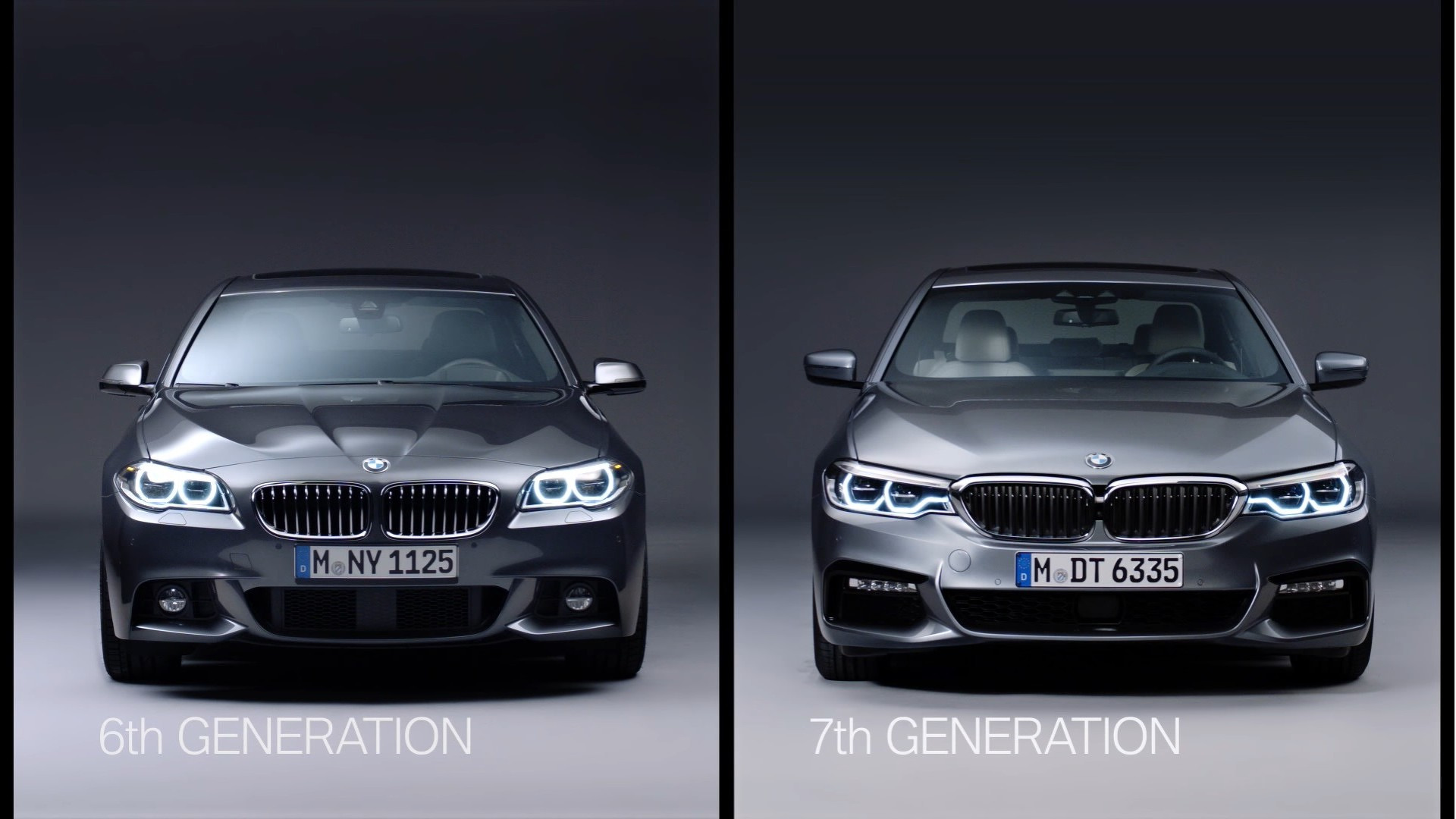 Old Versus New BMW Series F And G Video Comparison - Bmw 5 series pictures