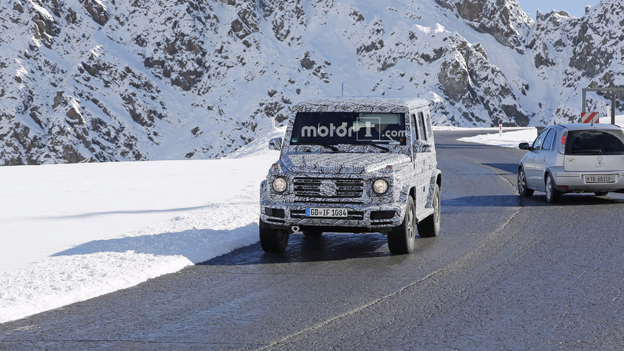2018 Mercedes G-Class spy photos