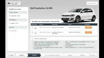 VW Golf nacional tem 1º aumento de preços; 1.6 MSI completo vai a R$ 100 mil