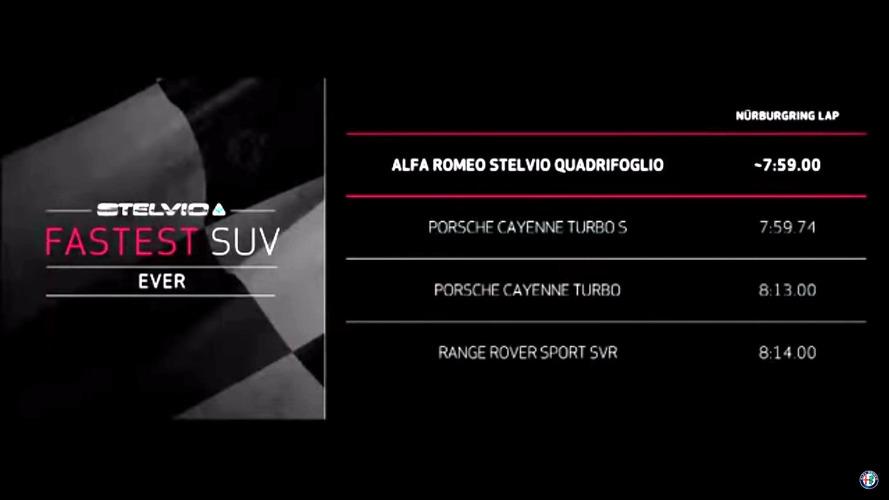 Alfa Romeo Stelvio QV Nürburgring rekoru