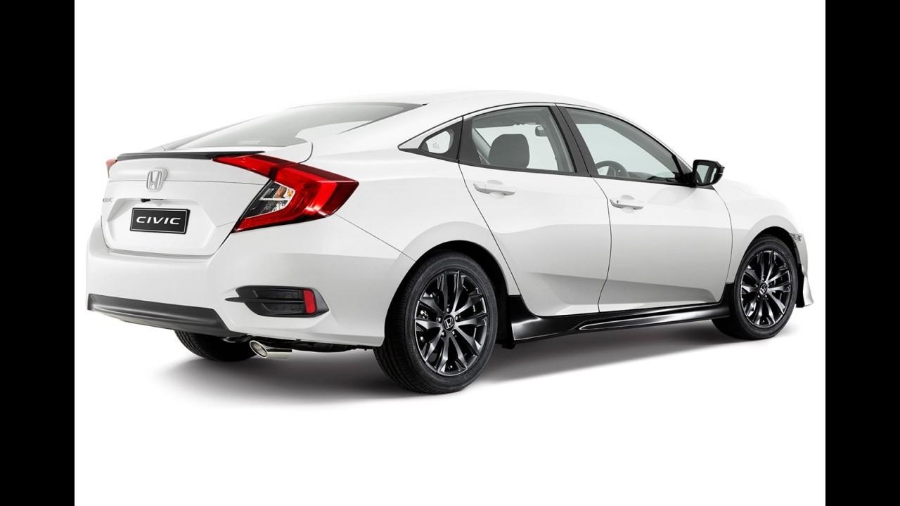 "Novo Honda Civic ganha pacote visual esportivo ""Black Pack"""