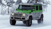 Mercedes G63 AMG 4x4 Green Monster spy photo