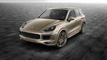Porsche Exclusive dresses up Cayenne S in Palladium Metallic