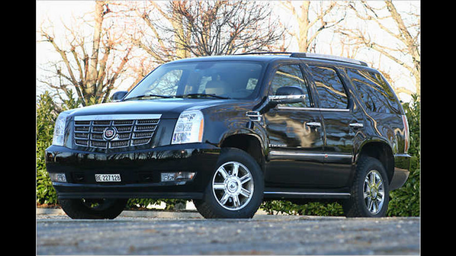 Ein SUV der Superlative: Cadillac Escalade 6.2 V8 im Test