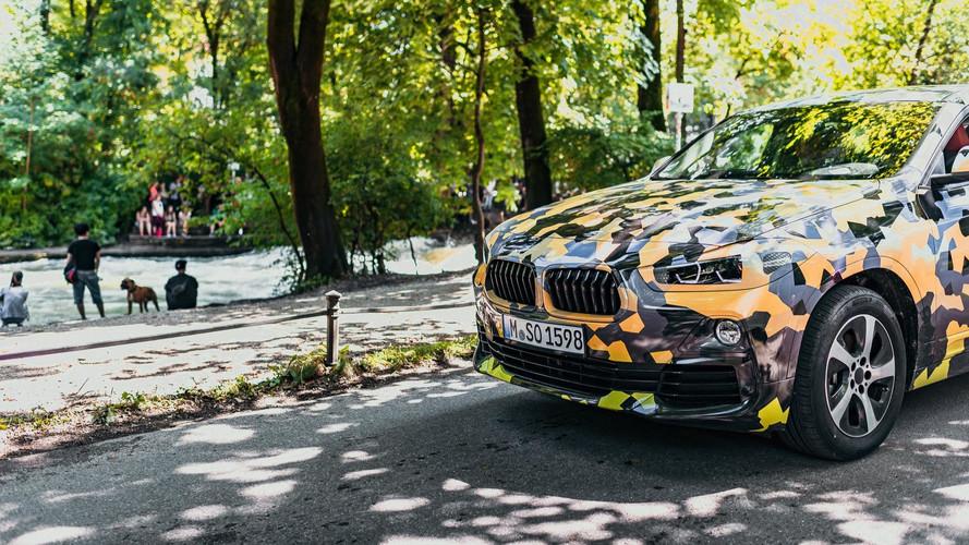 BMW Teases X2 With Camo Photos
