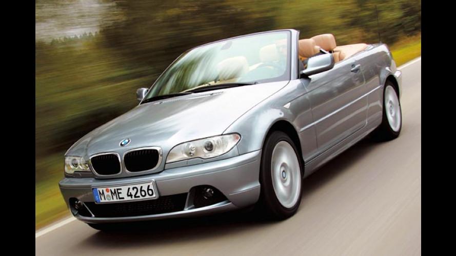 Neues von BMW: 330Cd Cabrio und neue Ausstattungen
