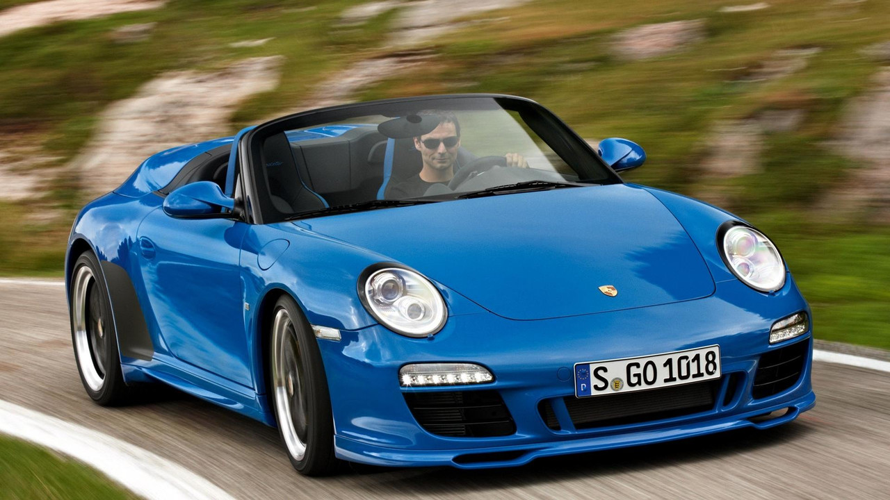 Porsche 911 Speedster To Drop Its Top In Frankfurt