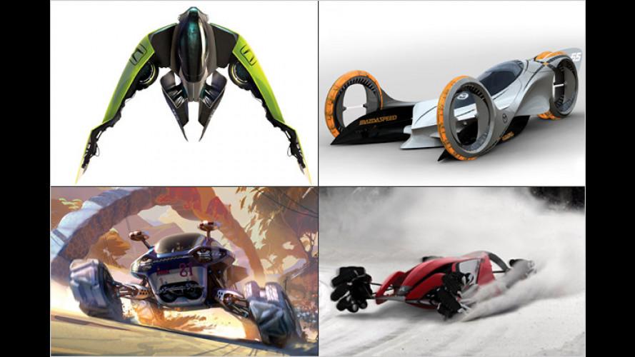 LA Auto Show Design Challenge: Flitzer für das Jahr 2025