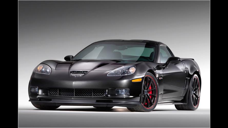 Teuflische Corvette: Sondermodell zum Chevrolet-Jubiläum