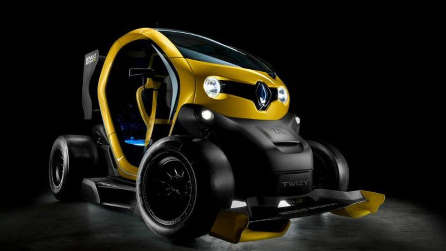 Twizy Renault Sport F1 Concept revealed
