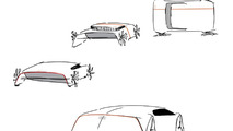 Audi GT concept by student Vanessa Woznik from the University of Art and Design Offenbach 26.11.2012