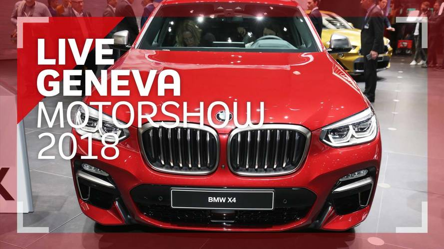 Genève 2018 - Le BMW X4 vu de plus près