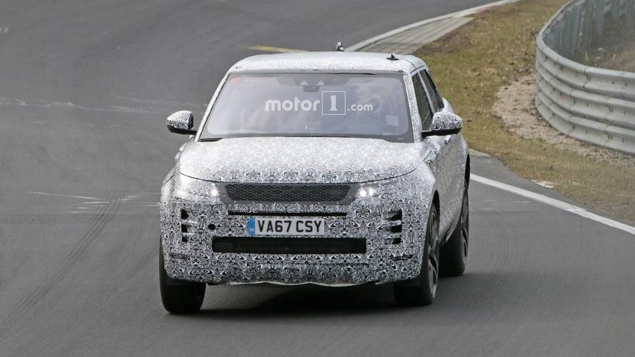 New Range Rover Evoque Has Graduated To Testing On The 'Ring