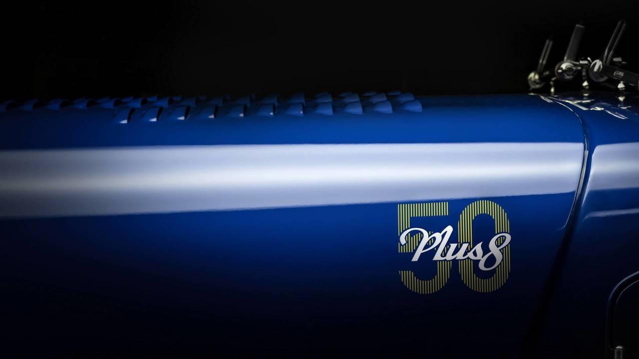 Morgan Plus 8 50 Aniversario recreación