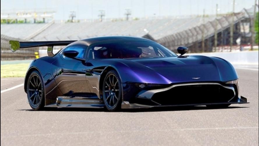 Aston Martin Vulcan, all'asta la belva da 831 CV