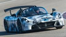 Primera prueba Dallara Stradale