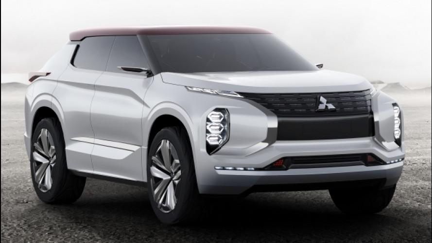 Mitsubishi GT-PHEV Concept, l'ibrida con 1.200 km d'autonomia