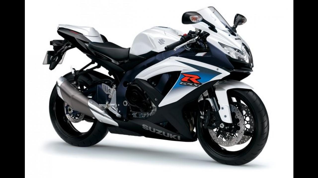 Suzuki convoca GSX-R750 e GSX-R1000 para recall no sistema de freio