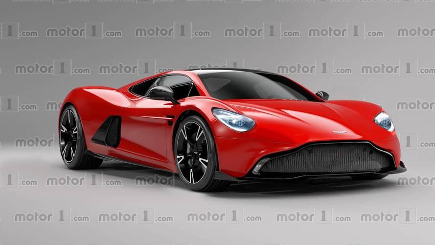 Ortadan motorlu bir Aston Martin daha hayal edelim