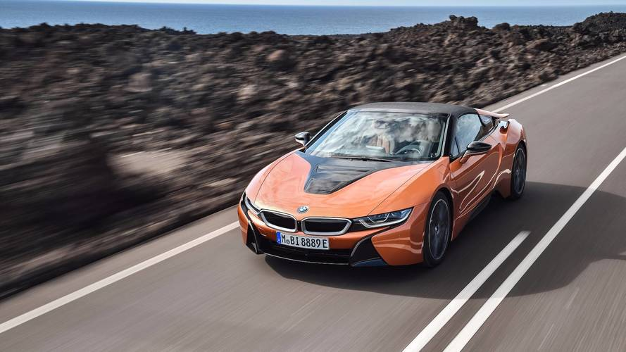 Start Saving: BMW i8 Roadster Will Reportedly Start At $163,300