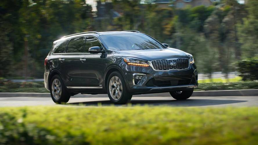 Kia Sorento With Diesel Power En Route To United States