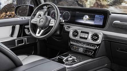 Beköszönt a digitális korszak a Mercedes G-osztályban