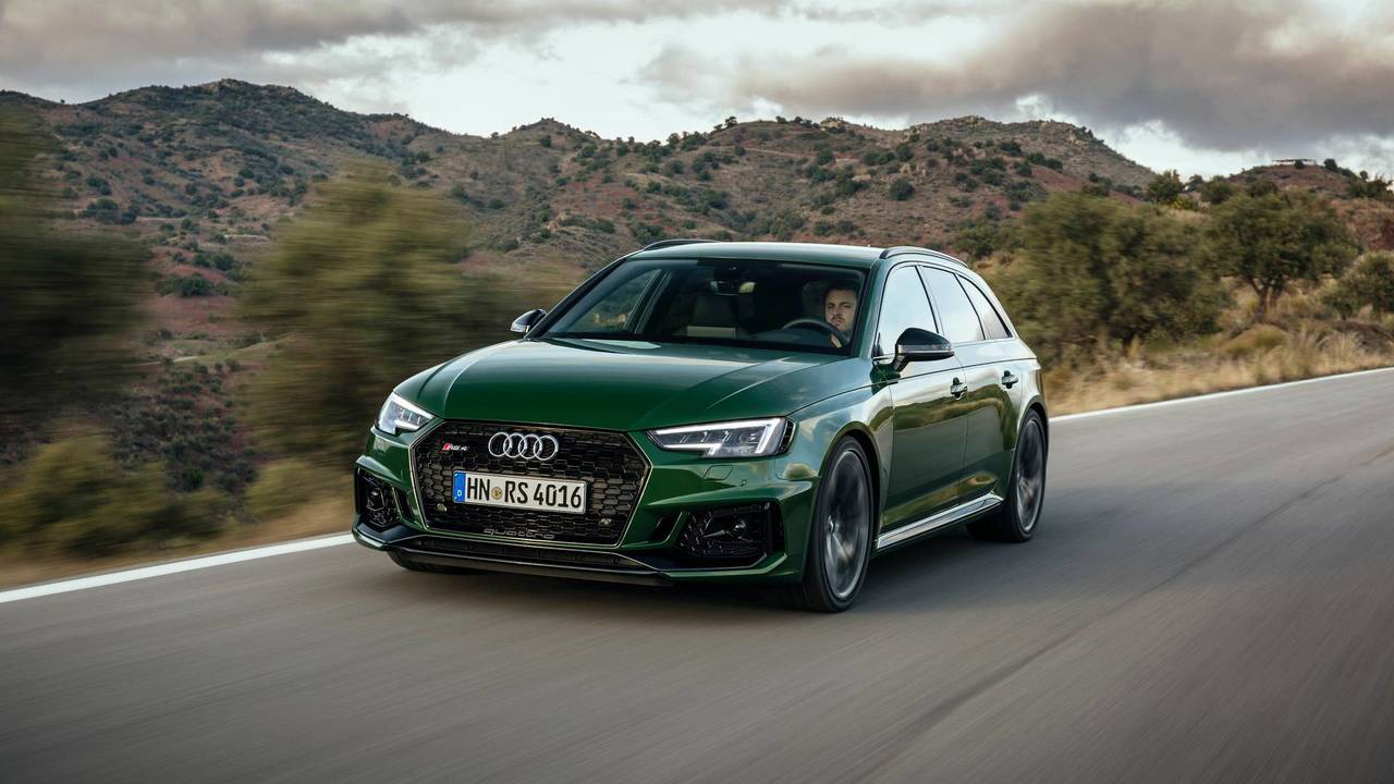 2017 Audi Rs4 Avant First Drive Motor1 Com Photos