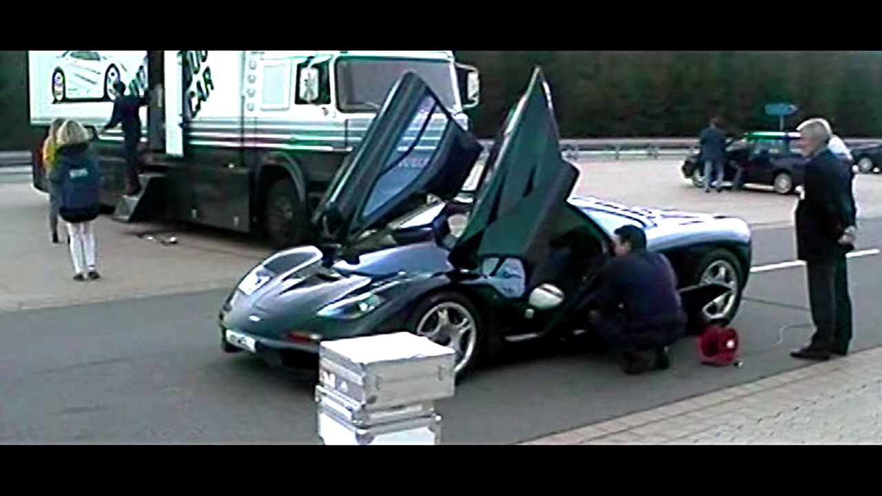 McLaren F1 top speed run