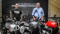 Henrique Fogaça embaixador da Triumph no Brasil